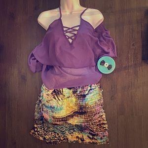 💜Watercolor Skirt!💜